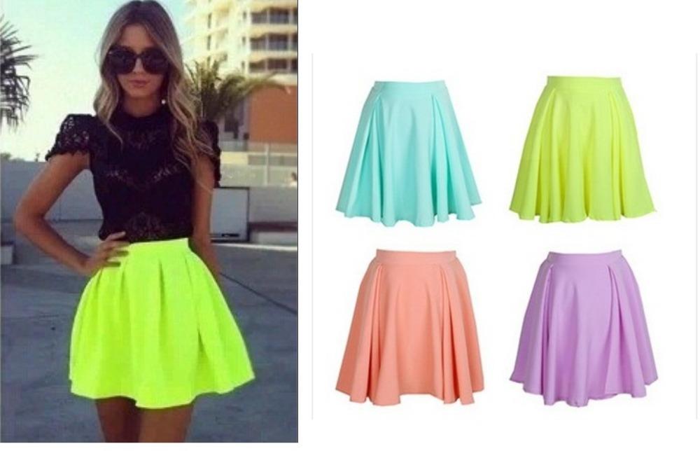 41f83be1ac High Waisted Summer Skirt - Redskirtz