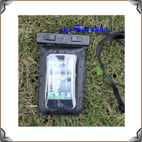 wholesale waterproof cell phone bag for swimming,diving