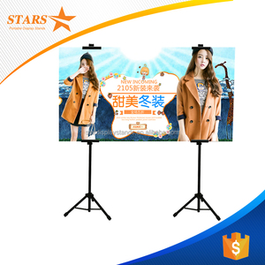 Hot Sales Tripod Metal Easel Display Stand for Advertising Display