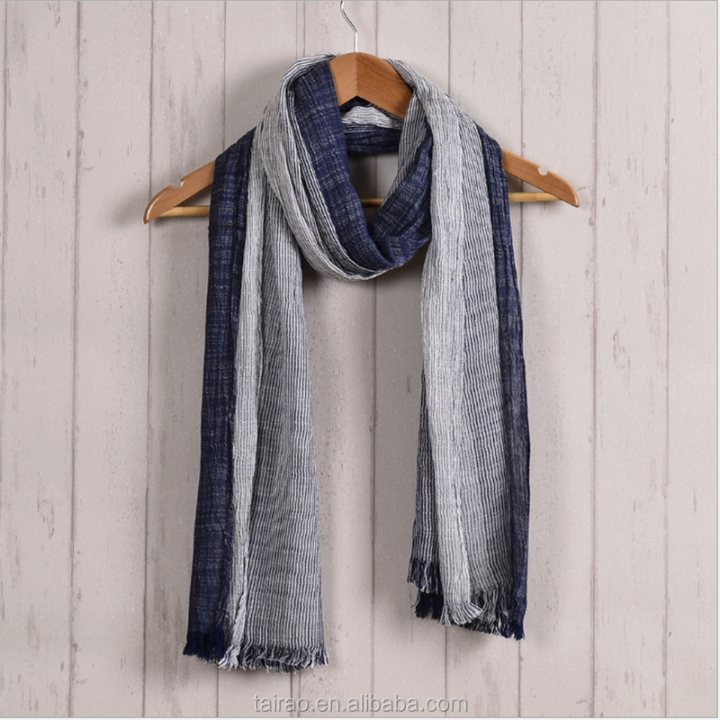 Muslim design style men's scarf wholesale plain muslim scarf men factory cheap price dubai muslim scarf for men