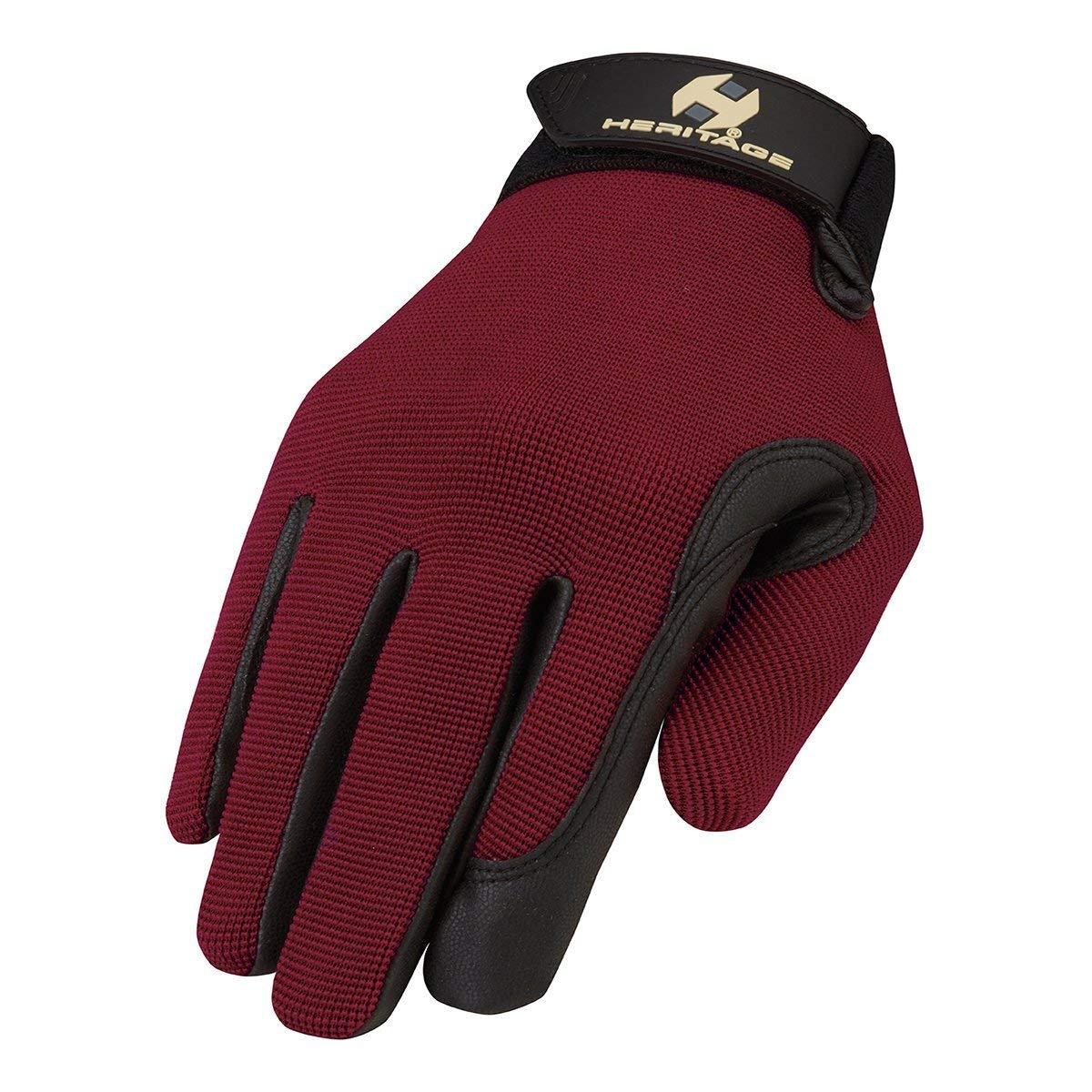 Heritage Performance Gloves DARK RED 8