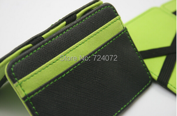 7a1ed5624087 Free shipping ID card holder bus card change wallet credit card slot  fashion simple design small wallet for male female