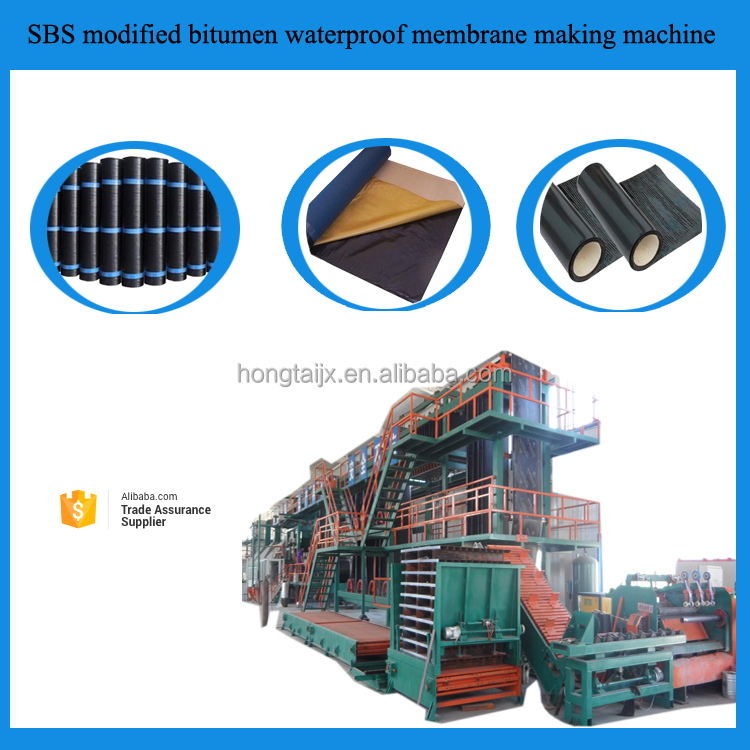 SBS/APP Modified Bitumen Waterproof Membrane Production Line/Equipment/Machinery