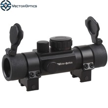 Vector Optics Chimaera 1x30 Hunting Green and Red Dot Scope Sight with 4 Multi Reitcles 30mm Weaver or Dovetail Ring Mount