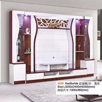 Tv Stand Designs And Price : Fashion simple design wholesale price tv wall unit panel wood and