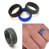 Custom Customized Mens Silicone Wedding Ring For Sportsman and Workers