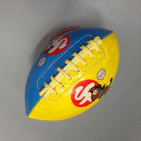 custom mini size PVC american football for promotion,training and exercise