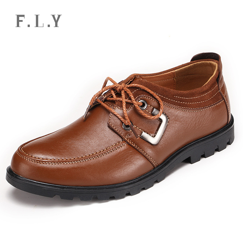 PLUS SIZE New 2015 spring High quality Genuine leather mens shoes Fashion Breathable business men loafers Casual zapatos PY0090