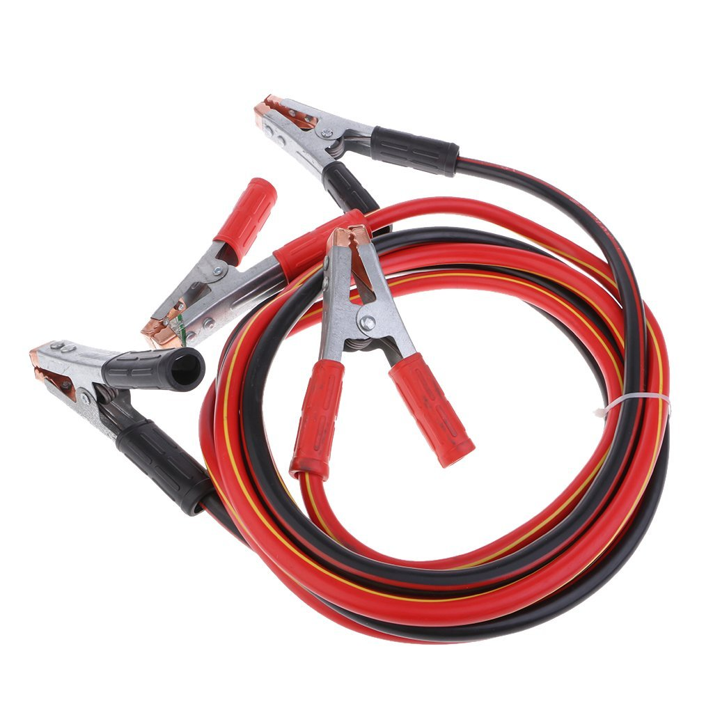 MagiDeal Car Booster Jumper Cable Emergency Battery Ignition Start Wire 2.5m