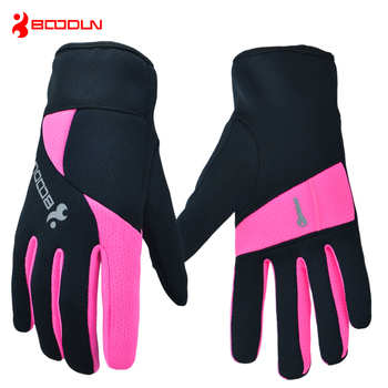Outdoor Sports Gloves Men Women Warm Windproof Cycling Hiking Climbing Running Ski Full Finger Glove