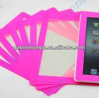color screen protectors for i PAD 2/3/4, colored border printing screen guard