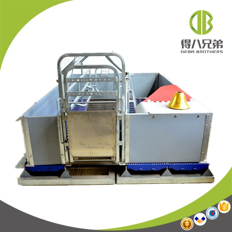 Cast Iron Floor Farrowing Crate Pig Breeding Equipment