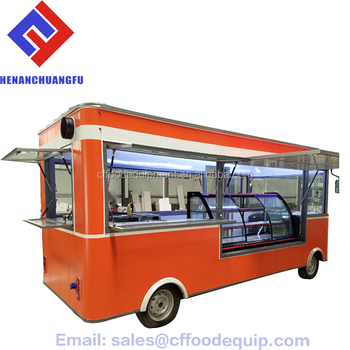alibaba china new design fast mobile custom food truck