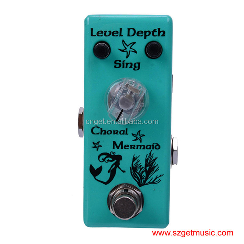 Movall Audio MM-11 Choral Mermaid Micro Chorus FX Pedal True Bypass