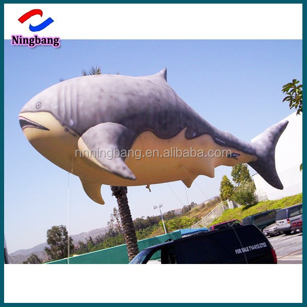 NB-CT20131 NingBang cheap giant inflatable ocean fish helium cartoon for outdoor display