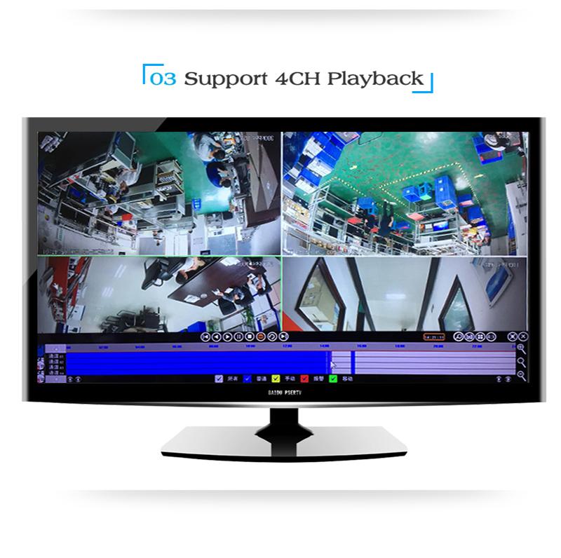 CCTV 4 Kanal Kiti 1080 P Güvenlik Ev kablosuz kamera Açık Wifi Nvr Kiti Güvenlik CCTV Sistemi