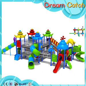 Creative cheap outdoor plastic playsets for kids
