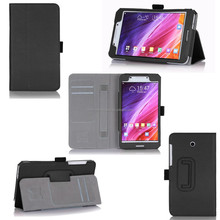 New Design PU Leather Foldable Case With Card Slots Protective Flip Tablet Case For Asus Fonepad 7 FE375