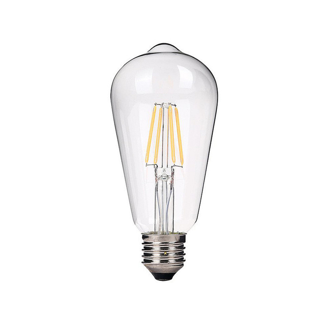 Amber ST58 6W COB LED Filament 8W <strong>E27</strong> <strong>E27</strong>
