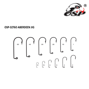 Wholesale Best Prices High Quality High Carbon Steel Sea Fishing Hook OSP-32760 ABERDEEN JIG