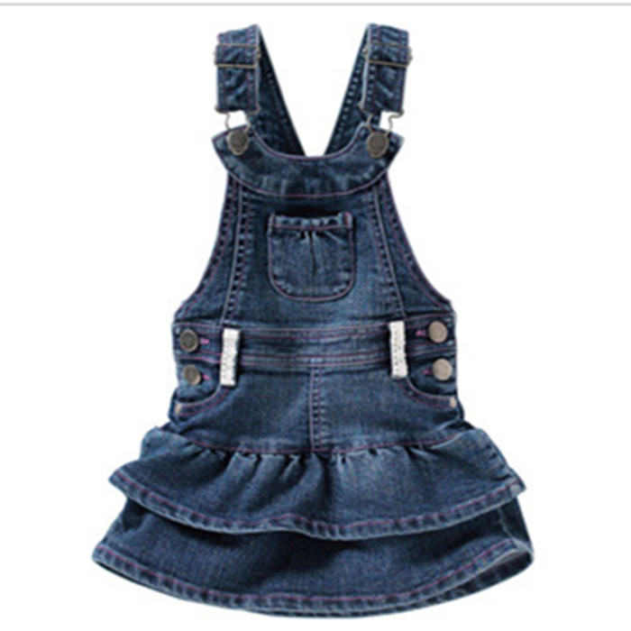 de69d5d0f ... dress:girls clothes c... Get Quotations · 5pcs/lot 2015 Fashion Baby  Girl Denim Princess Dresses Kids Vestido Jeans Infantil Menina Summer