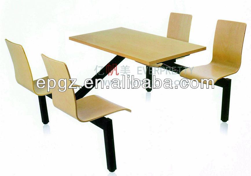 Madera cafe sillas y mesas de comida r pida de mesas y - Mesas y sillas de madera ...