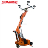 Battery operate electric vacuum lifter for glass steel marble