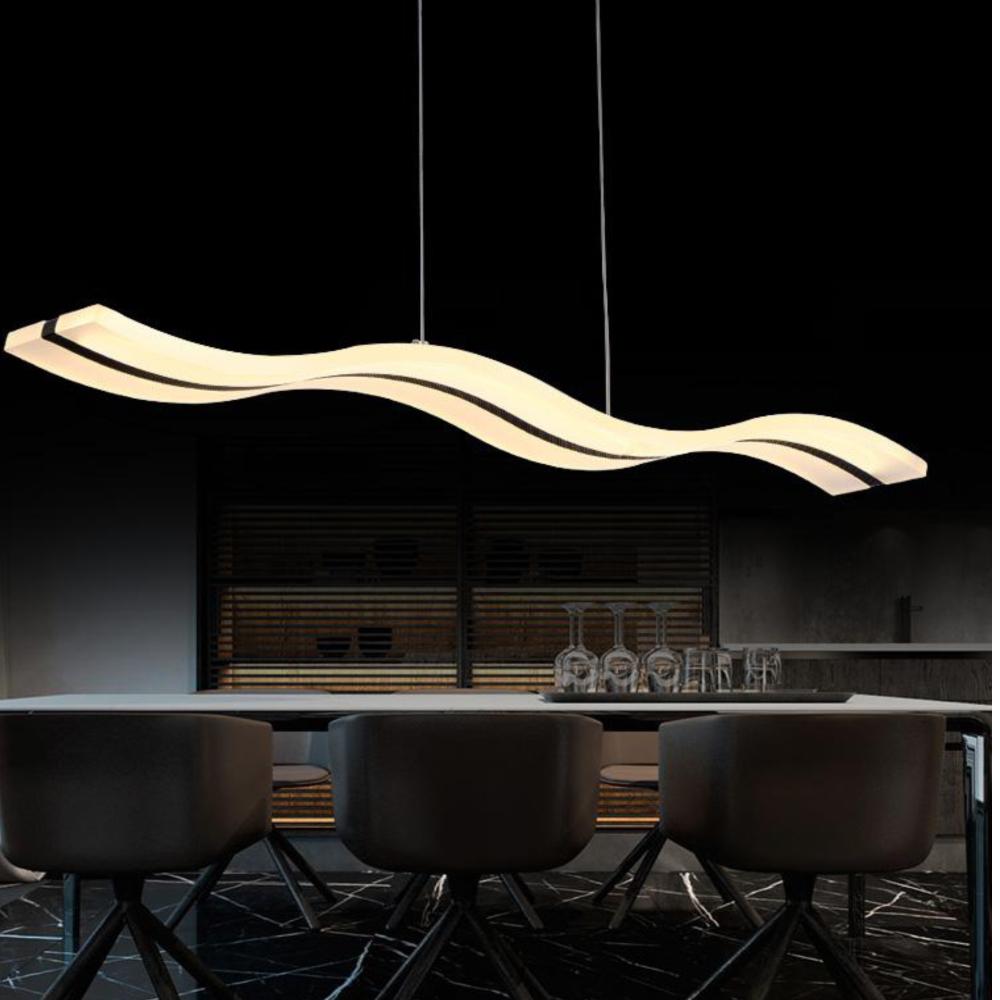 Simplerestaurant Levou Lustre Moderno Quarto L Mpadas Luz Pingente  -> Lustre Sala De Jantar Led