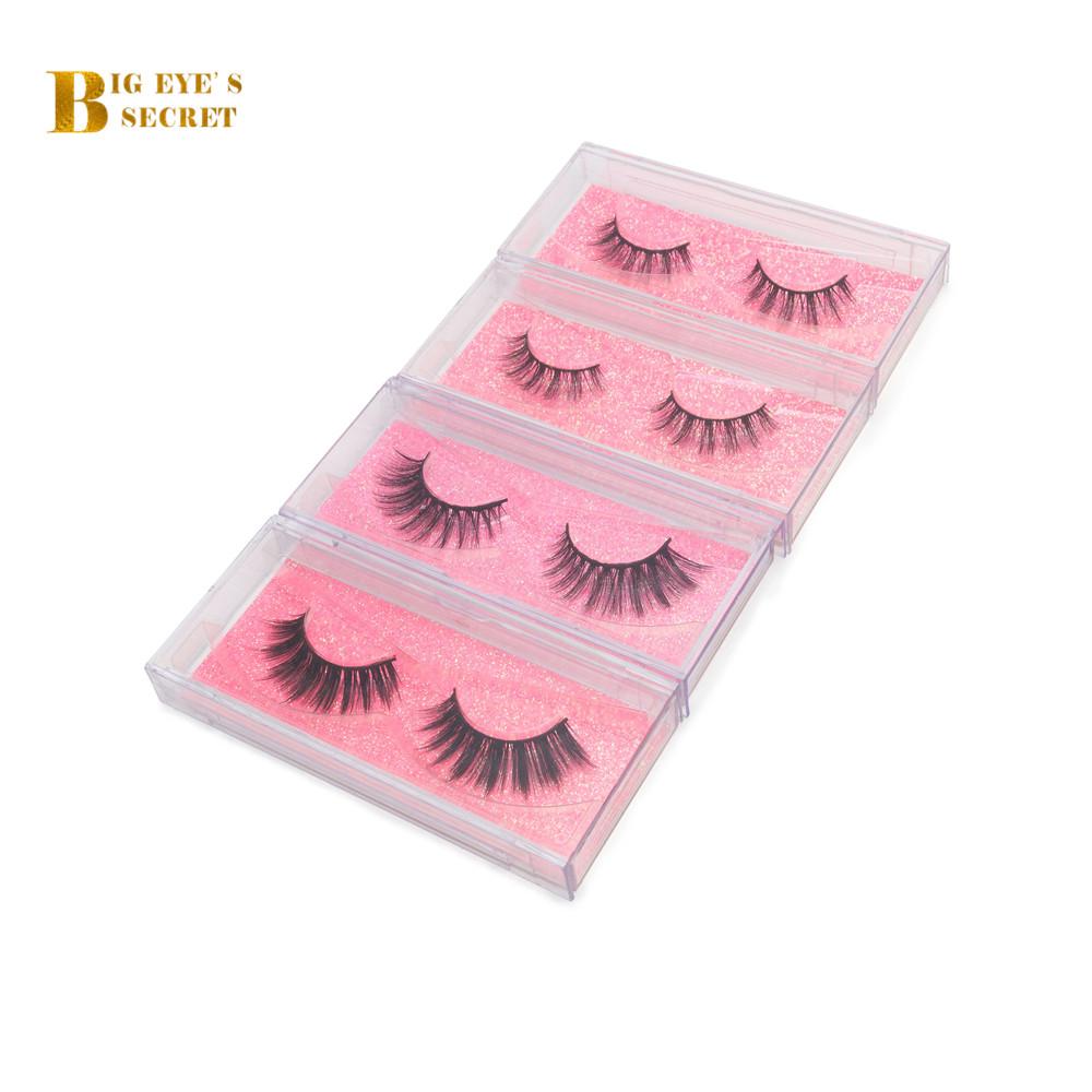 Free Shipping Wholesale Private Label Box Package 3D False Mink False Eyelashes фото