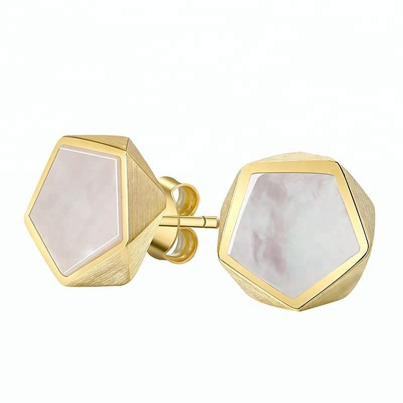 Fashion Geometric Angle silver fashionable jewelry, As photo