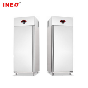 Small Double Door Commercial Upright Freezer/Ice Cream Deep freezer/Cooler Freezer