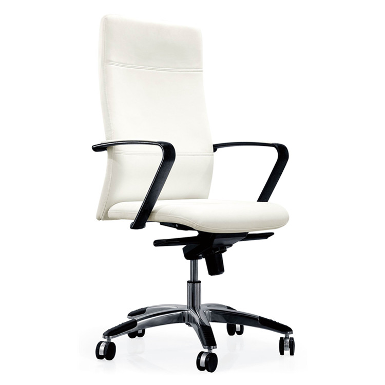black and white modern Office swivel chair YS1204A specification swivel office chair no wheels