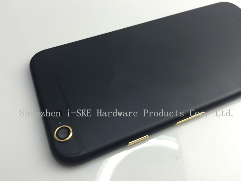 High Quality Housing Replacement For Iphone 6 Matte Black Housing ...
