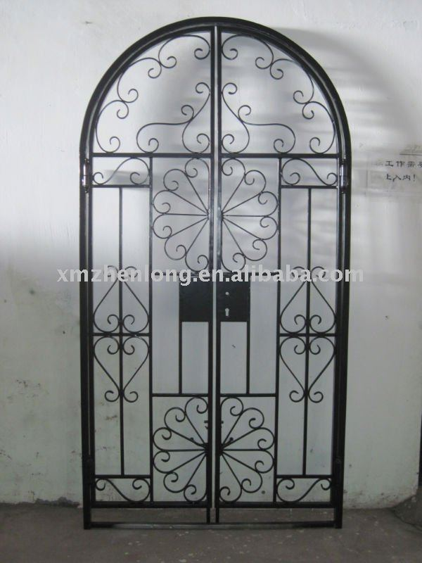 Garden Arch Wrought Iron Gate Garden Arch Wrought Iron Gate