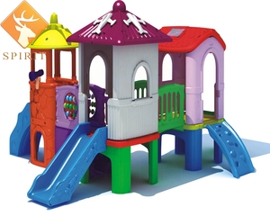 Import Sunray Infant cheap plastic slides with foam pit