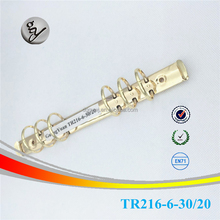 Gold plating 6 ringband <span class=keywords><strong>mechanisme</strong></span>/metalen <span class=keywords><strong>ring</strong></span> clip in guangdong fabriek