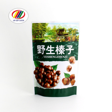 custom chestnut patato chips dried frozen food plastic packaging printed snack bag