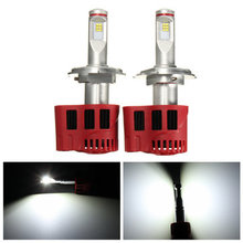 H4 45W 12V/24V Motorcycle and auto LED replacement bulbs for Headlights