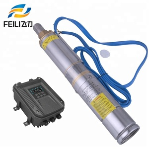 Solar well pump submersible 1.5hp submersible water pump