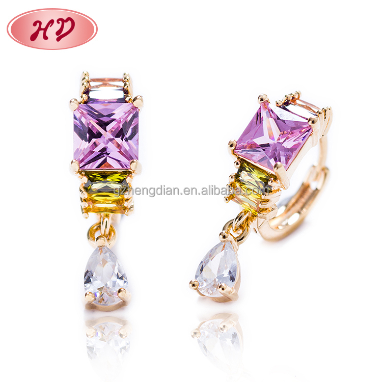 cheapestper sonalized new style gold plating wholesale fashion <strong>jewelry</strong> for ladies earring designs pictures