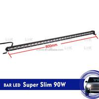 Auto LED Bar lights out door high brightness led light bars Super Slim 90W