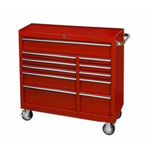 41 intch 11 drawer portable deep ball bearing garage tool cabinet