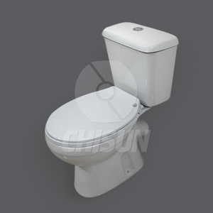 Ceramic Two Piece Toilet With CE From China North HTT-05D