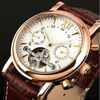 OEM brand design automatic watch with custom movement watch for men