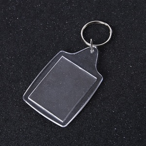 2018 acrylic keychain laser cut custom photo insert promotional keychain cheap giveaway gifts