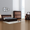 high gloss MDF Home Furniture queen size modern simple design bedroom furniture set