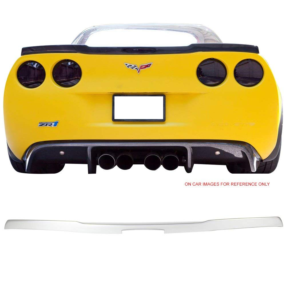 Buy 2009-2013 C6 CORVETTE REAR SPOILER GM RACING STYLE In