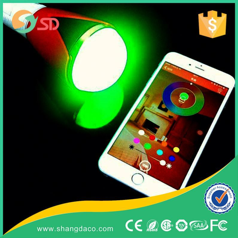 5W B22 E26 E27 Color Changing Smart LED cheap 2016 bluetooth speaker
