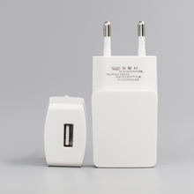 Bulk Sale Fast Charging Mini Size 5V 1A Electric Single Port EU Wall Charger