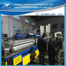 PE double wall corrugated water pipe manufacturing line with price